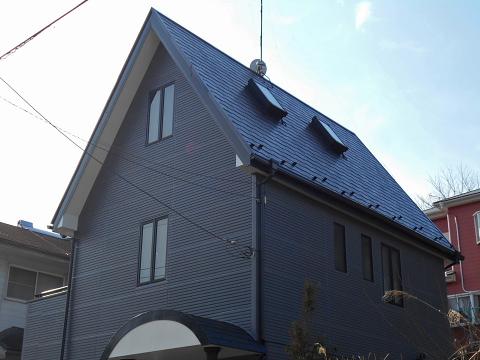 施工後|市原市 外壁塗装 シリコン塗料 施行事例