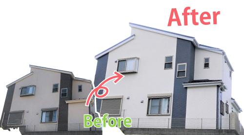 利用者の住まい2|ちいき新聞の外壁塗装