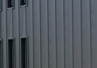 金属サイディング壁